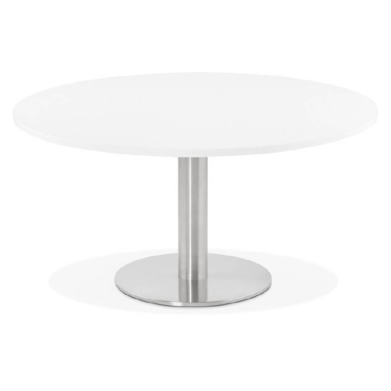 Coffee Table Design Yael In Wood And Brushed Metal White Coffee Tables