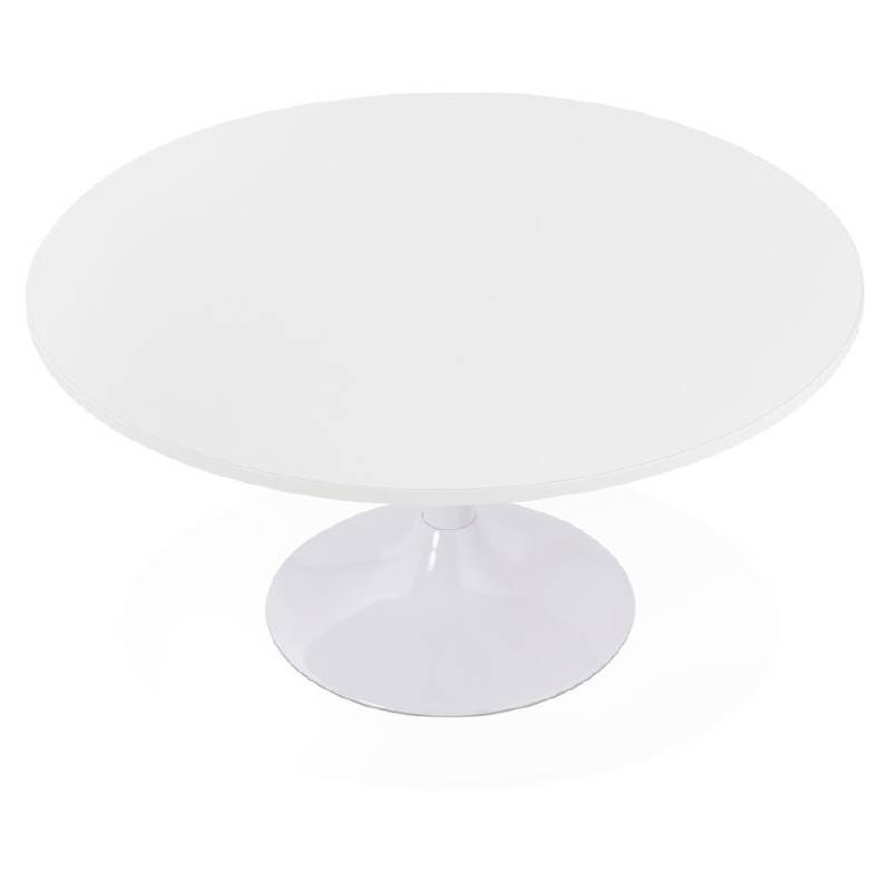 Victoria Métal Design PeintblancTables Table Et Basses Bois Basse En rBedCWQox