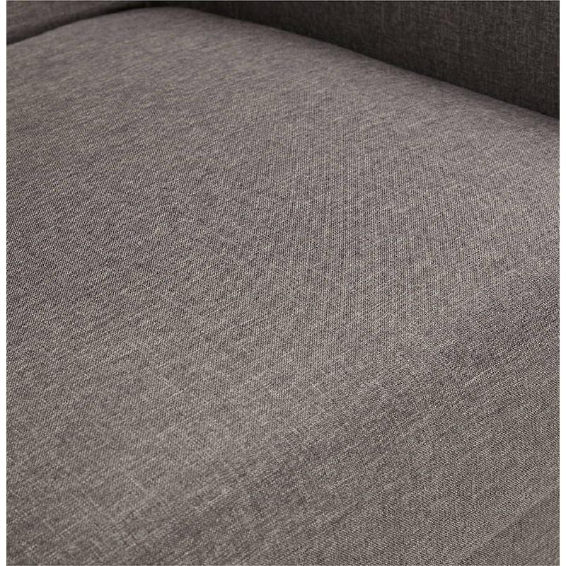 Fauteuil design IRINA en tissu (gris foncé) - image 38886
