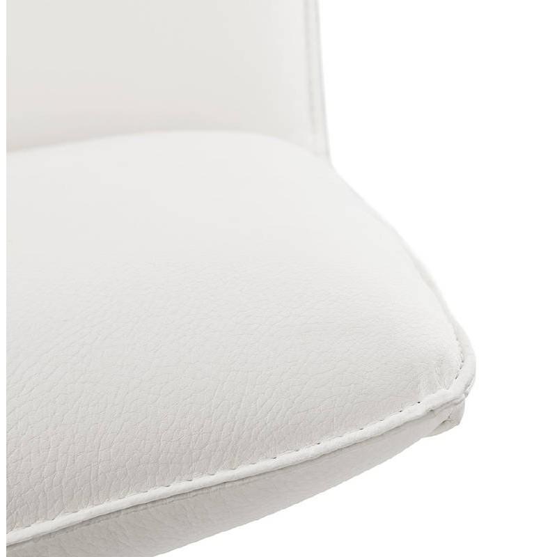 Fauteuil design pivotant MIRANDA (blanc) - image 38953
