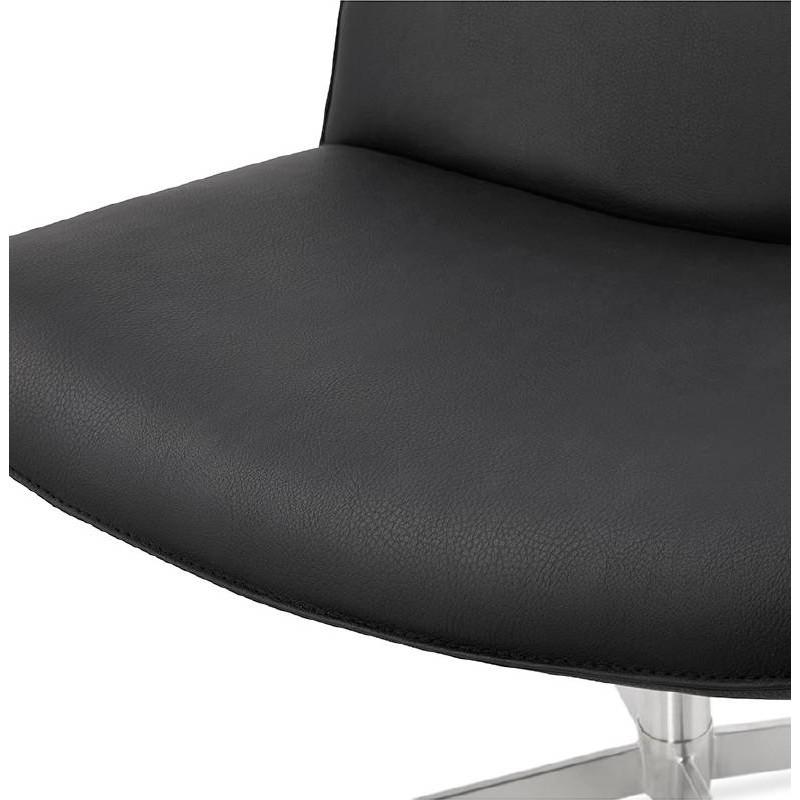 Fauteuil design pivotant MIRANDA (noir) - image 39072