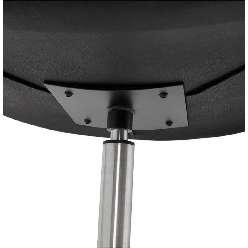Fauteuil design pivotant MIRANDA (noir) - image 39077