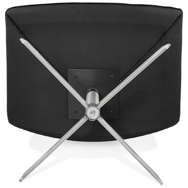 Fauteuil design pivotant MIRANDA (noir) - image 39078