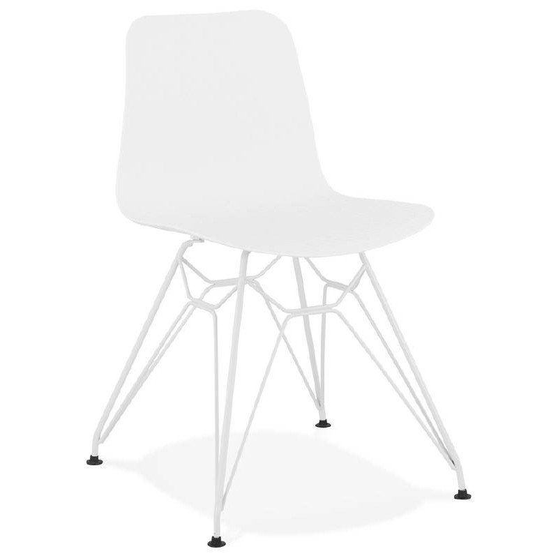 Remarkable Design And Modern Chair In Polypropylene Feet White White Caraccident5 Cool Chair Designs And Ideas Caraccident5Info