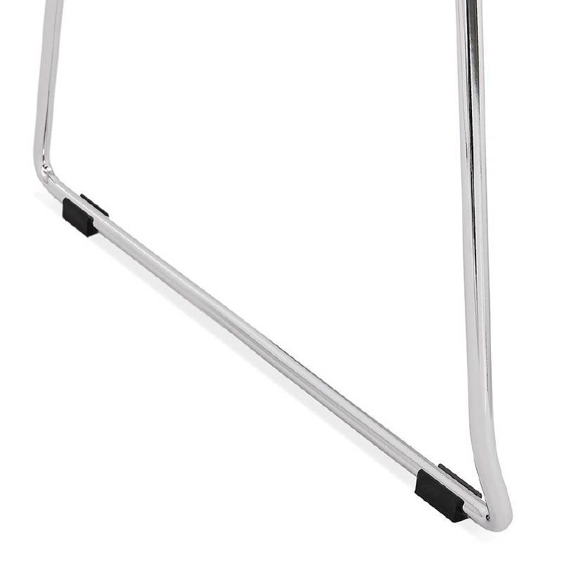 Piede di ALIX sedia moderno cromato in metallo (bianco) - image 39257