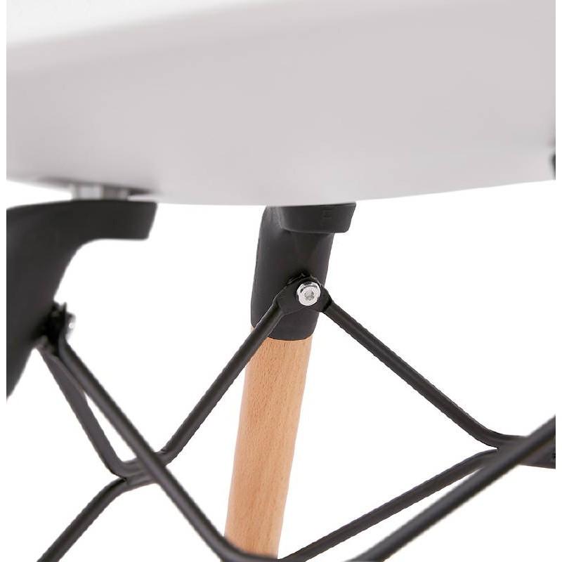 Skandinavisches Design Stuhl CANDICE (weiß) - image 39465