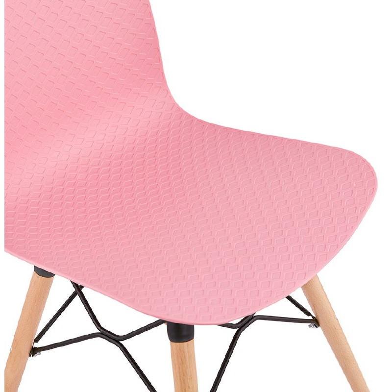 Silla de diseño escandinavo CANDICE (rosa) - image 39491