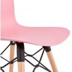 Sedia design scandinavo CANDICE (rosa)