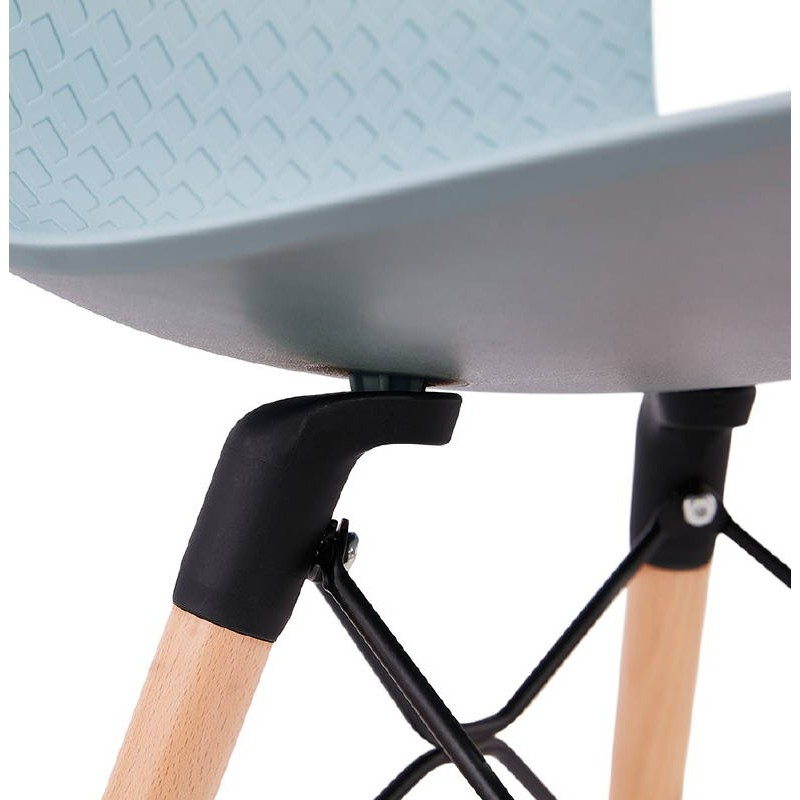 Skandinavisches Design Stuhl CANDICE (himmelblau) - image 39510