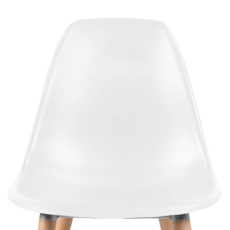 Sedia design scandinavo ANGELINA (bianco) - image 39534