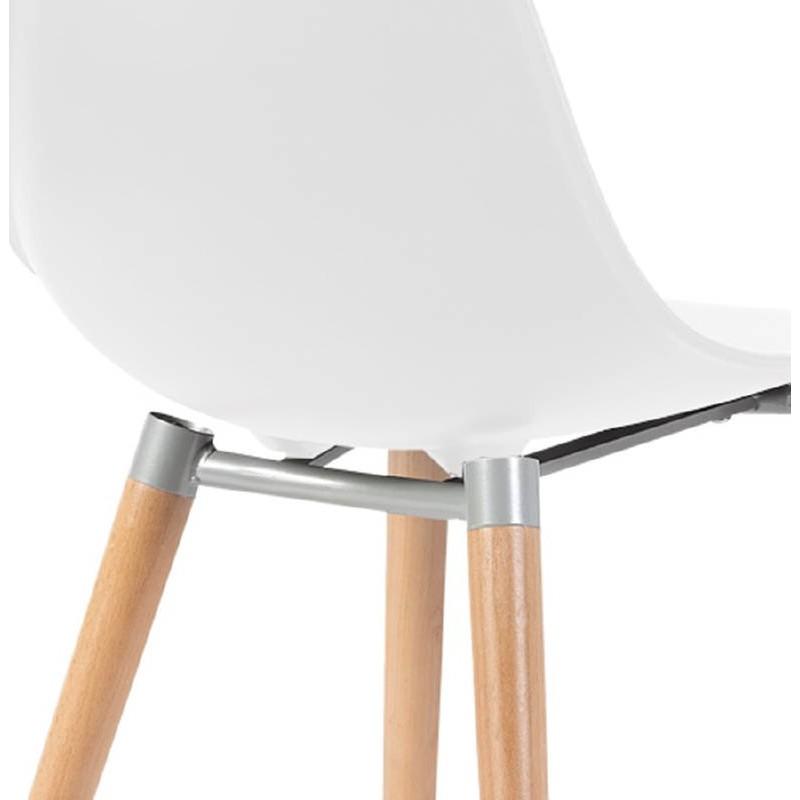 Silla de diseño escandinavo ANGELINA (blanco) - image 39535