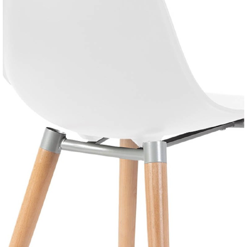 Skandinavisches Design Stuhl ANGELINA (weiß) - image 39535