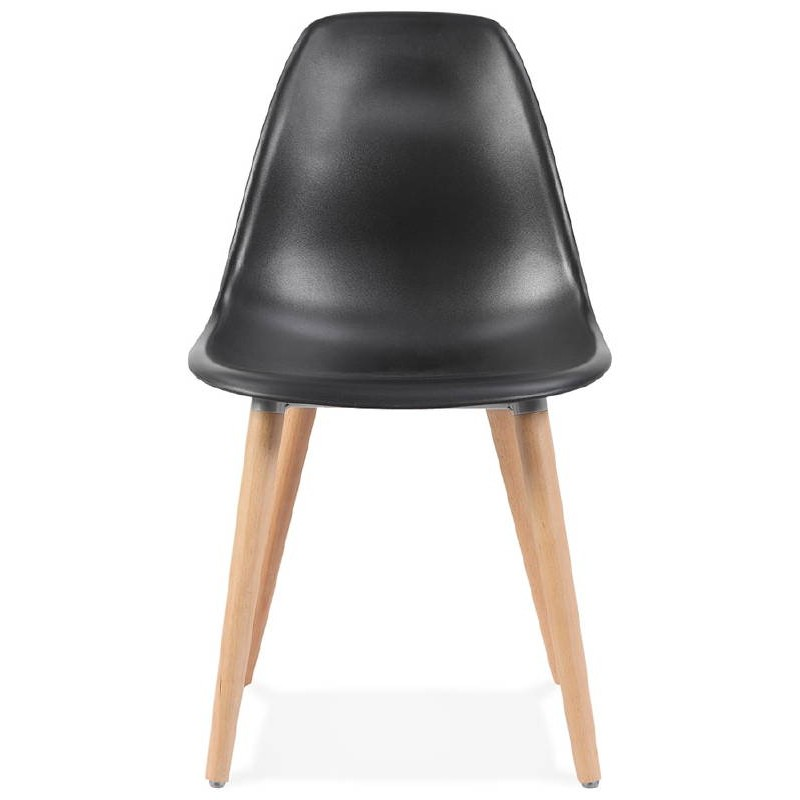 Scandinavian design chair ANGELINA (black) - image 39540