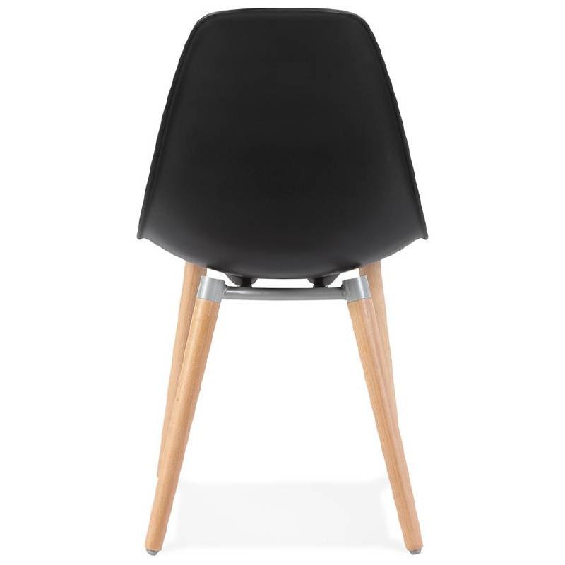 Skandinavisches design stuhl angelina schwarz for Stuhl skandinavisches design