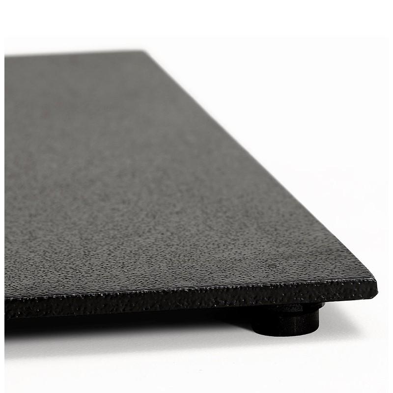 Table à manger design ou table de réunion LUCILE (160x80x75 cm) (noir) - image 39803