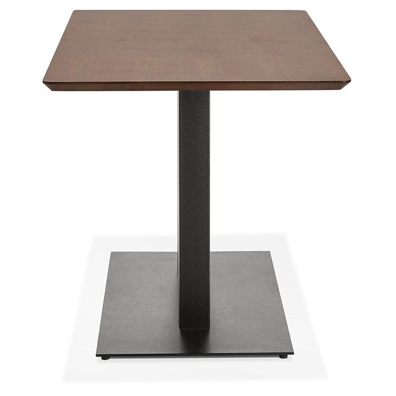 Table à manger design ou table de réunion KENZA (150x70x75 cm) (finition noyer) - image 39807