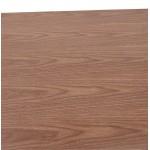 Table à manger design ou table de réunion KENZA (150x70x75 cm) (finition noyer)