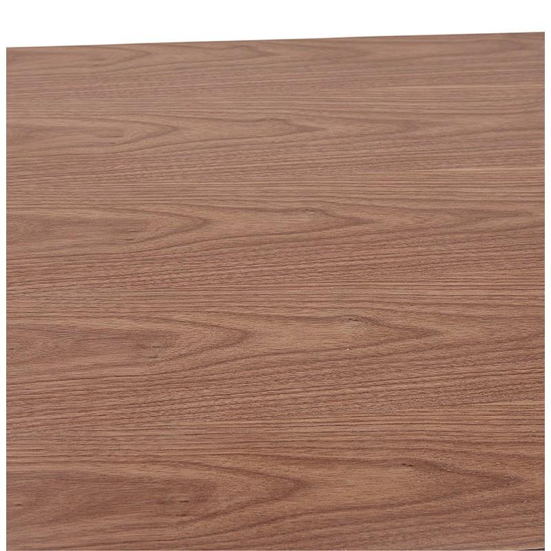 Table à manger design ou table de réunion KENZA (150x70x75 cm) (finition noyer) - image 39811