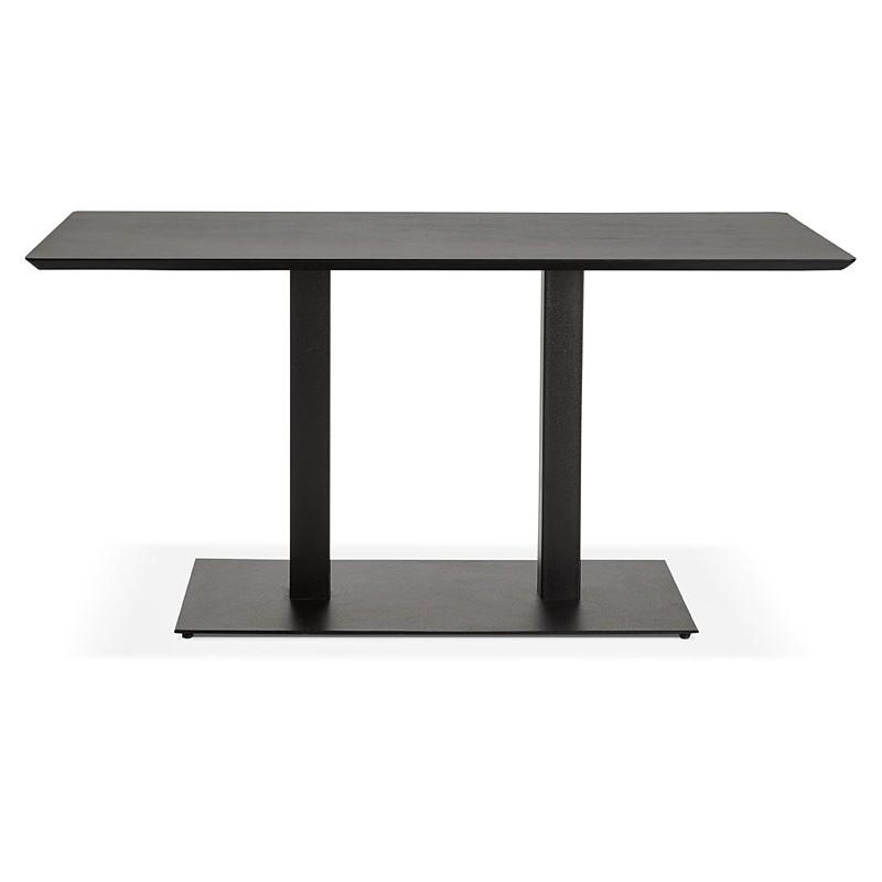 Table à manger design ou table de réunion KENZA (150x70x75 cm) (noir) - image 39817