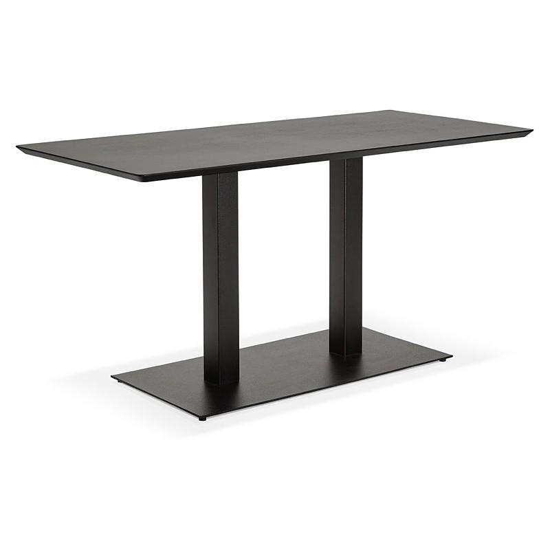 Table à manger design ou table de réunion KENZA (150x70x75 cm) (noir) - image 39819