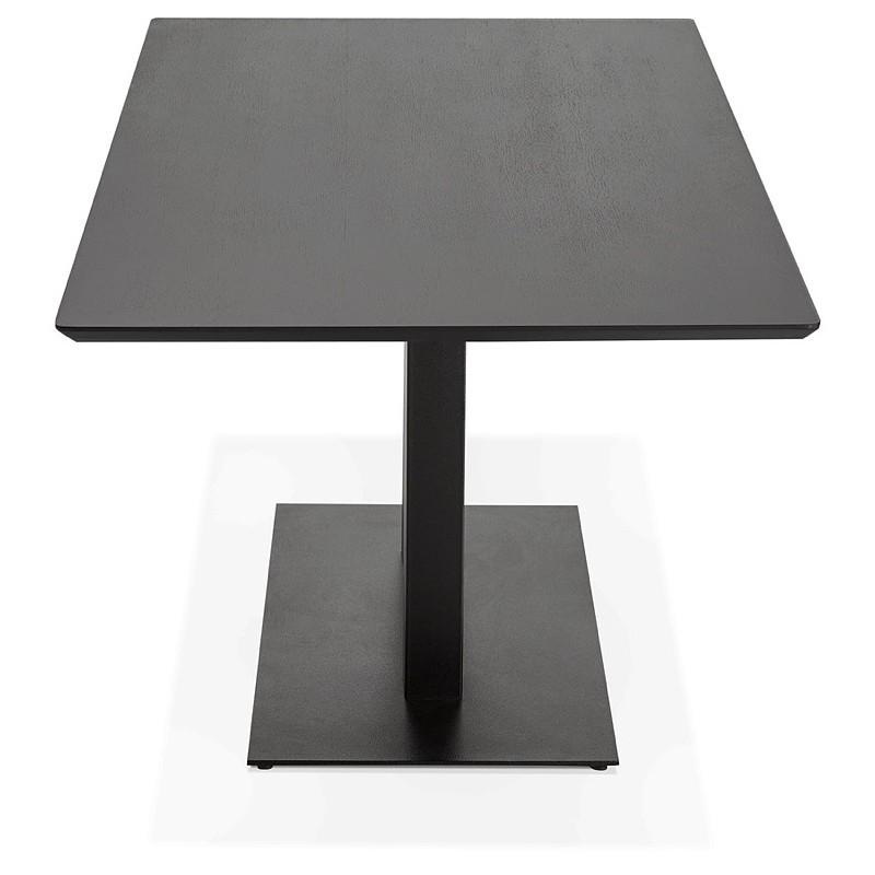 Table à manger design ou table de réunion ANDREA (180x90x75 cm) (noir) - image 39851