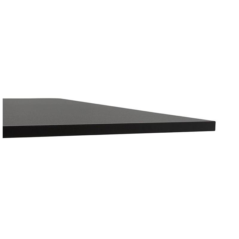Table design or meeting table SOLÈNE (160 x 80 x 75 cm) (black) - image 39875