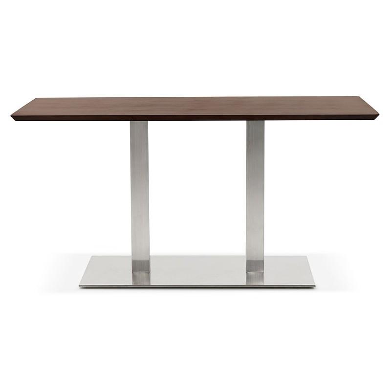 Diseño o reunión mesa de CORALIE (150 x 70 x 75 cm) (acabado en nogal) - image 39892