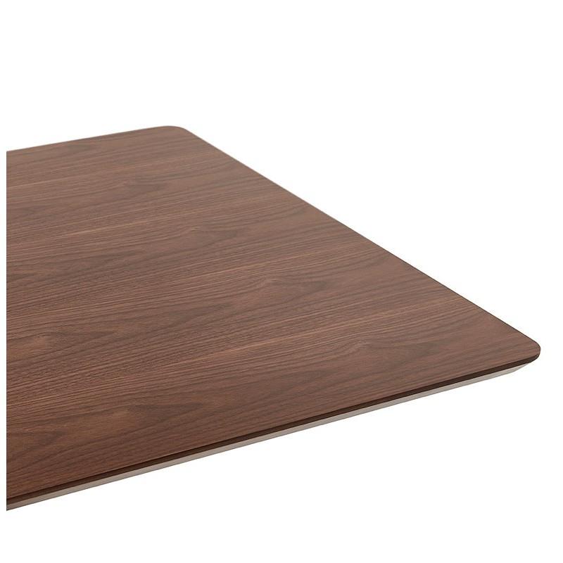 Diseño o reunión mesa de CORALIE (150 x 70 x 75 cm) (acabado en nogal) - image 39895