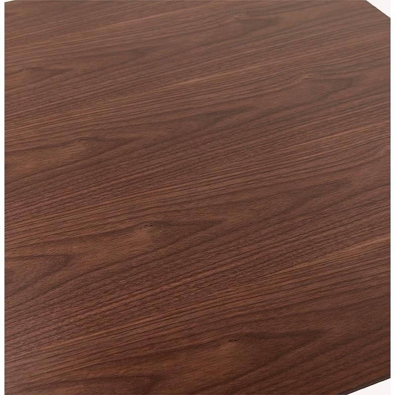 Diseño o reunión mesa de CORALIE (150 x 70 x 75 cm) (acabado en nogal) - image 39897