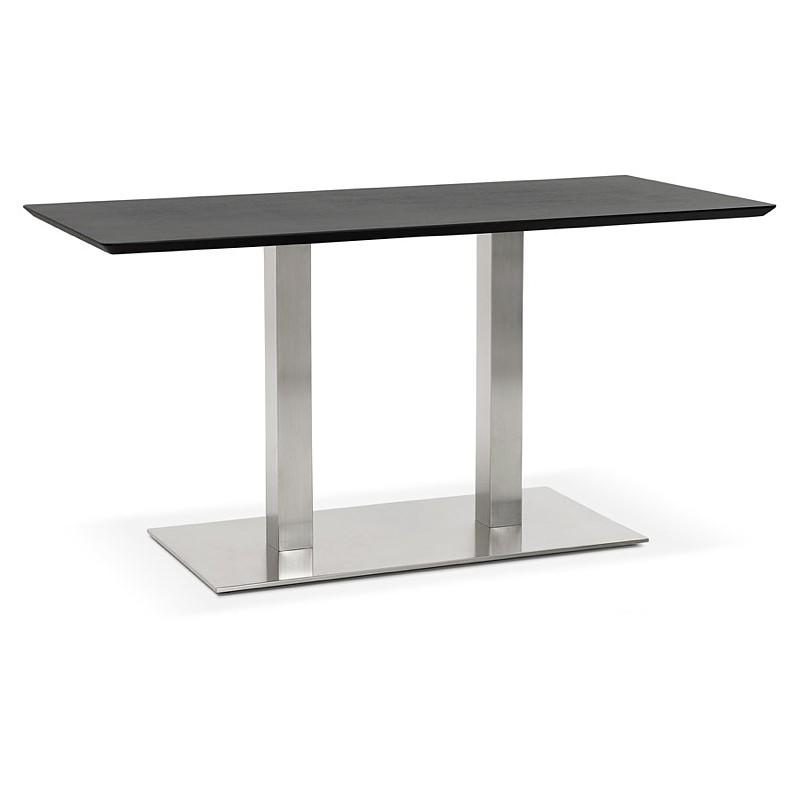Design oder Meeting Tisch CORALIE (150 x 70 x 75 cm) (Esche schwarz Finish) - image 39901