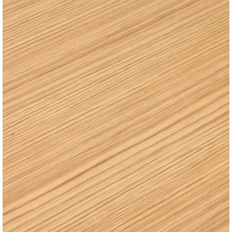Table à manger design ou table de réunion CLAIRE (180x90x75 cm) (finition chêne naturel) - image 39955