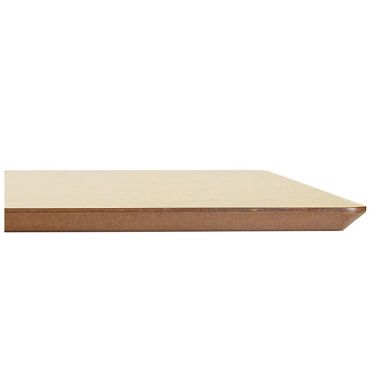 Table à manger design ou table de réunion CLAIRE (180x90x75 cm) (finition chêne naturel) - image 39956