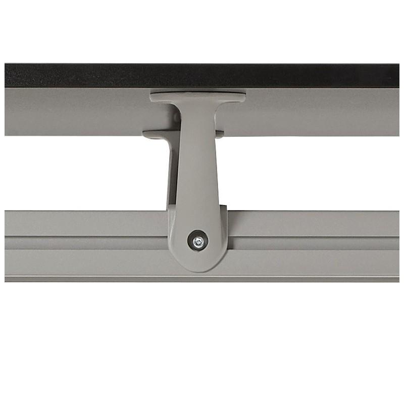 Bureau table de réunion moderne (80x160 cm) AMELIE en bois (noir) - image 40043