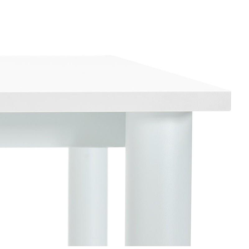 Bureau table de réunion moderne (80x160 cm) LORENZO en bois (blanc) - image 40161