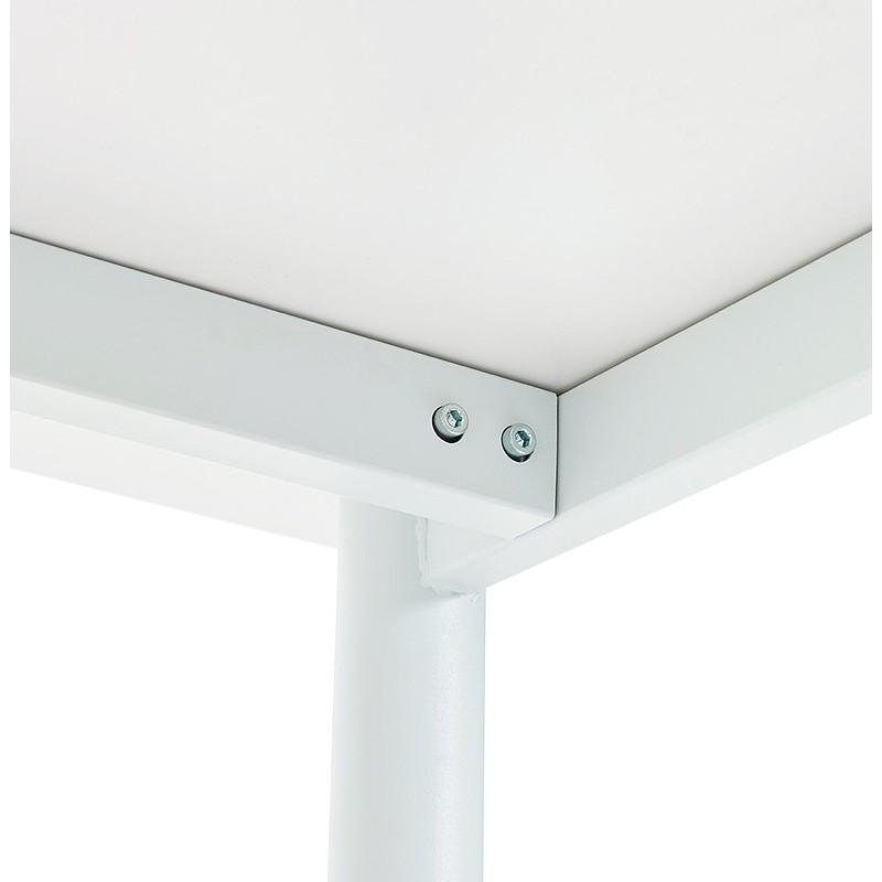 Bureau table de réunion moderne (80x160 cm) LORENZO en bois (blanc) - image 40163