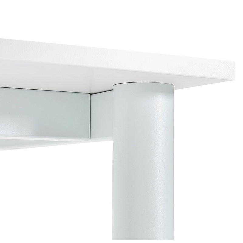 Bureau table de réunion moderne (80x160 cm) LORENZO en bois (blanc) - image 40164