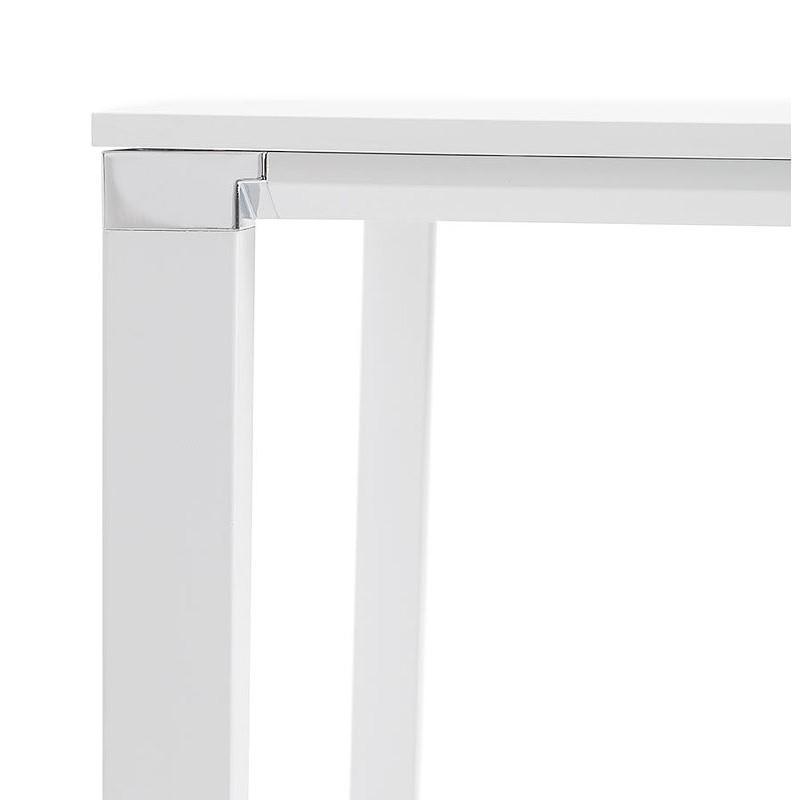 Bureau table de réunion moderne (140x140 cm) RICARDO en bois (blanc) - image 40195