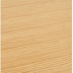 Tisch-Design oder (180 x 90 cm) FOSTINE Schreibtisch aus Holz (Natur)