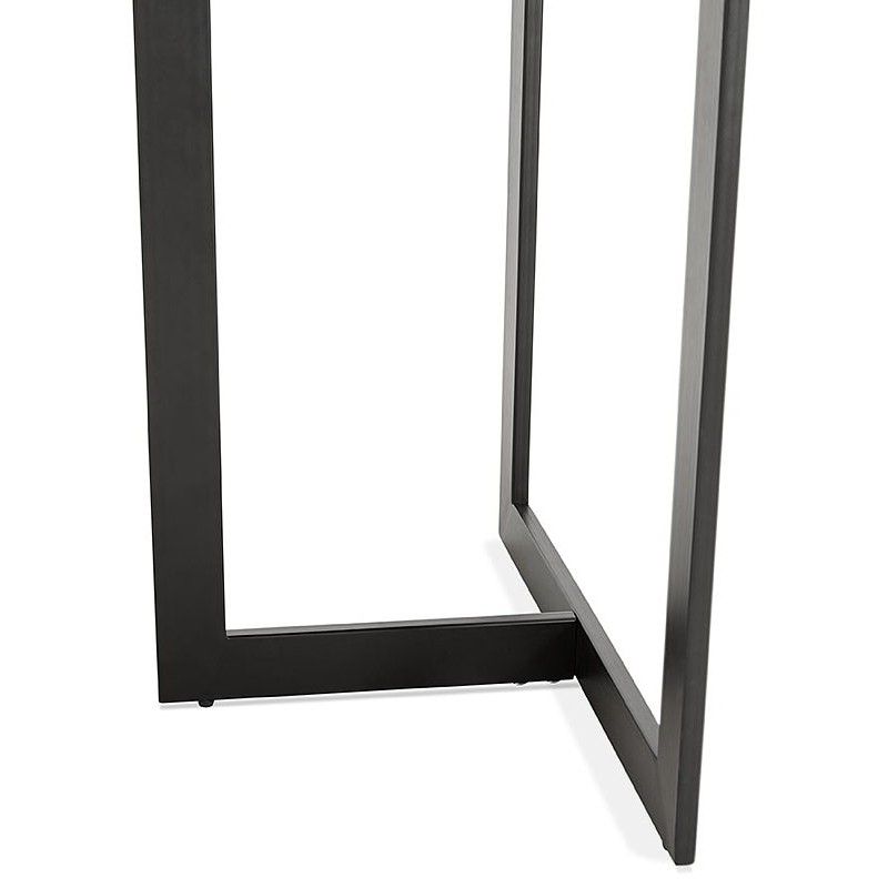 Table à manger design ou bureau (150x70 cm) ESTEL en bois (finition noyer) - image 40362