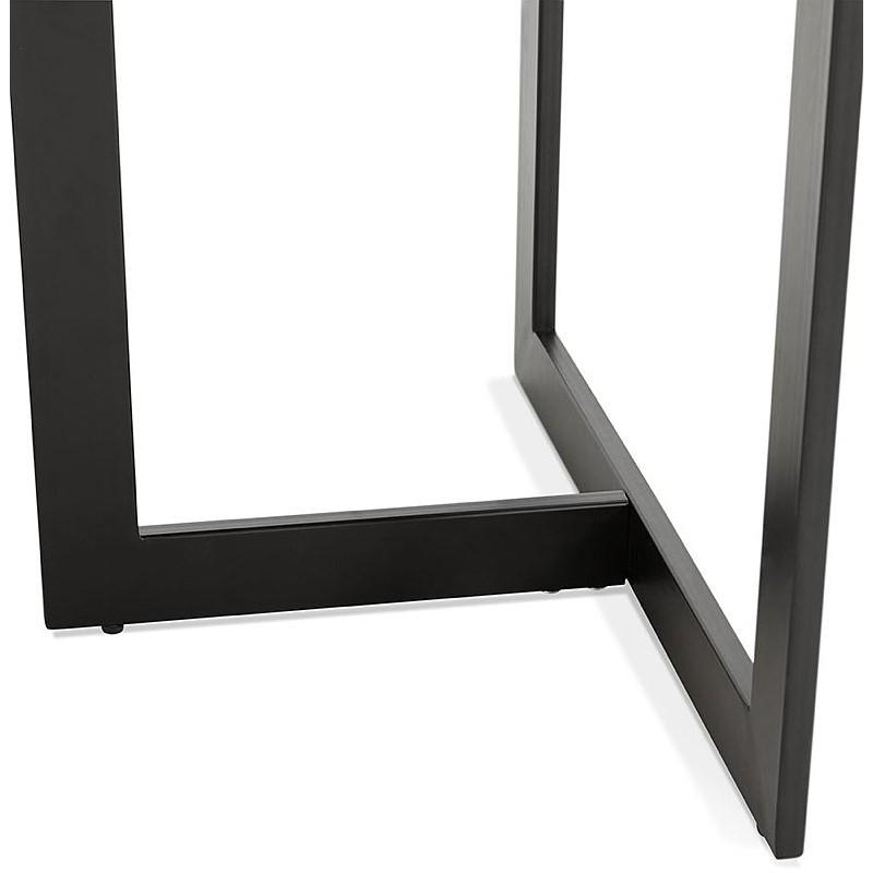 Table à manger design ou bureau (180x90 cm) DRISS en bois (finition noyer) - image 40403