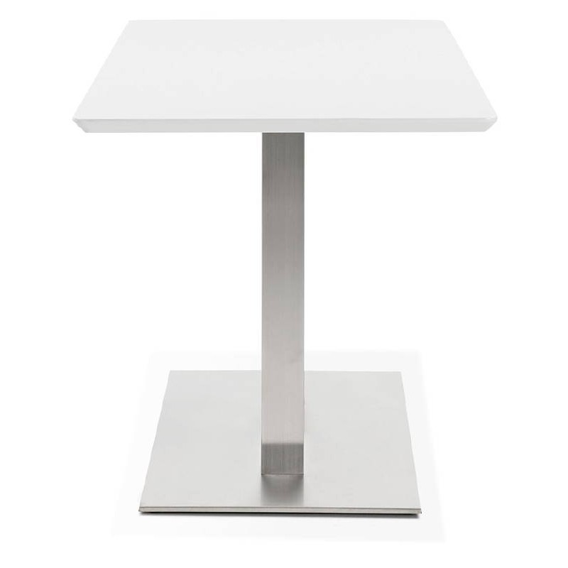 Table à manger design ou table de réunion CORALIE (150x70x75 cm) (blanc) - image 40417