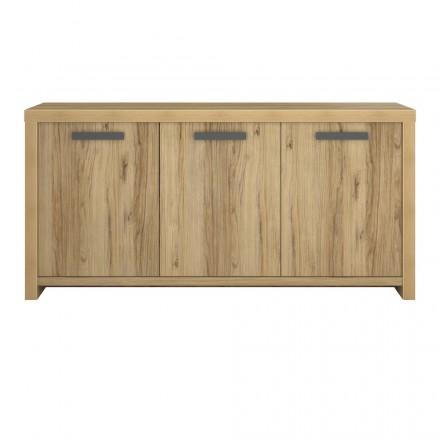 Buffet di fila 3 porte contemporanee di ALISON legno (rovere)