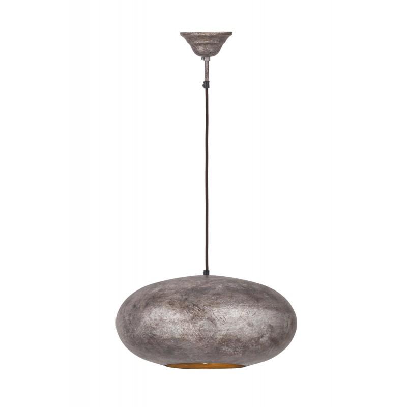 Industrial sospensione metallo H 20 cm Ø 40 cm KIARA (bronzo) - image 41013