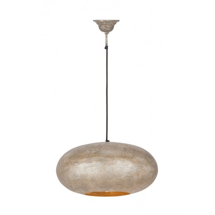 Industrial colgante Lámpara metal H 20 cm Ø 40 cm KIARA (champagne)