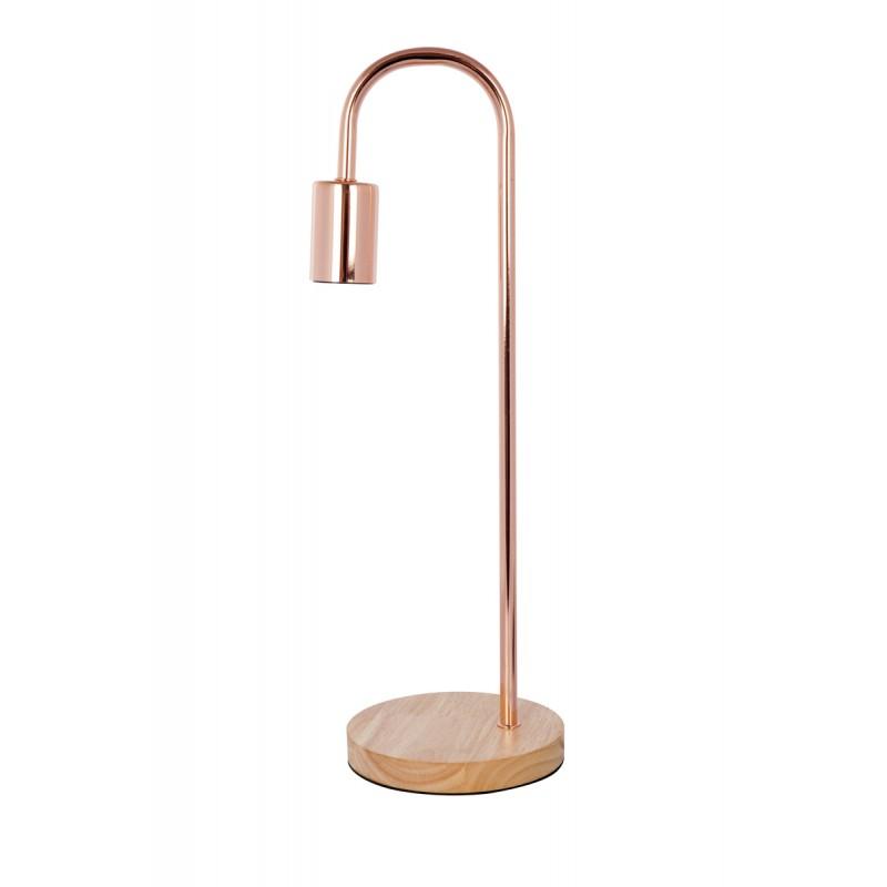 Table lamp design metal H 47 cm Ø 15 cm ARIANE (copper) - image 41035