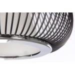 Lampe à suspension design en métal  TIFFANY (noir)