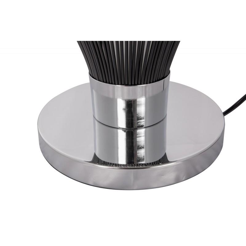 Lampe de table design en métal H 45 cm Ø 34 cm TIFFANY (noir) - image 41055