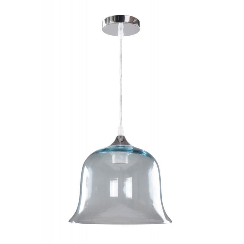Design hängen H 24,5 cm Ø 24,5 cm Glaslampe KELLY (blau) - image 41059