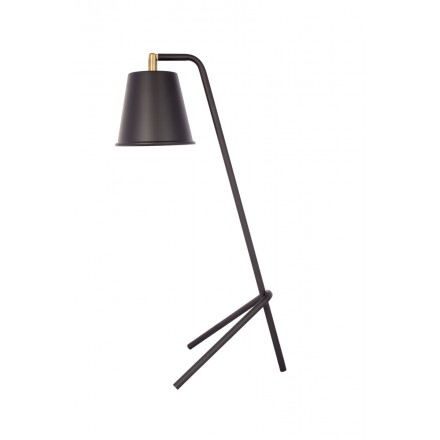 KALYSSIE (black) metal design table lamp