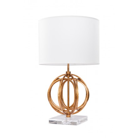 Table lamp design and retro GLORIA (gold)